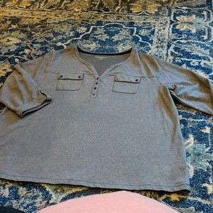 NWOT cotton Tweed color,2XL ladies casual Tunic